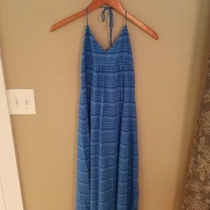 🐦4/$20 GAP Halter Top Maxi Dress